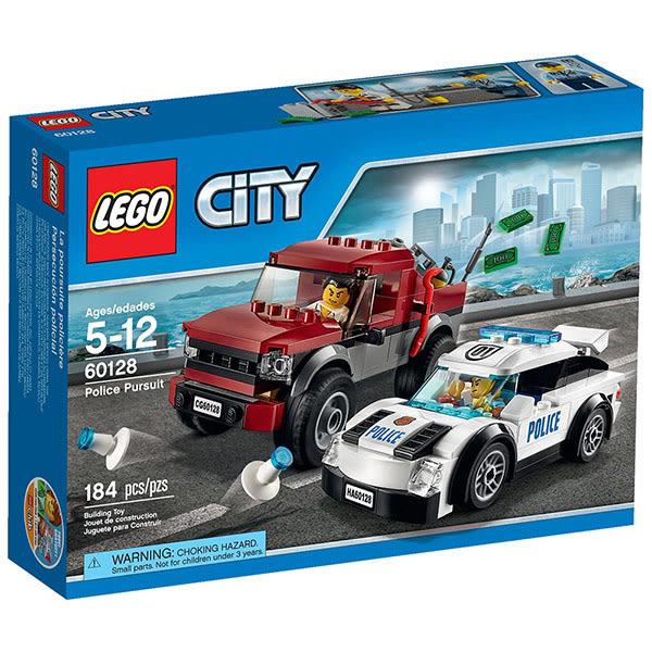 樂高積木LEGO 城市系列 60128 員警追逐