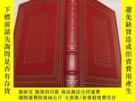 二手書博民逛書店The罕見Red Badge of Courage 真皮精裝Franklin library 限量版 書口三面刷金