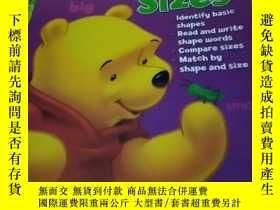 二手書博民逛書店Shapes罕見and Sizes DisneyY308086