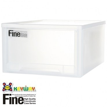 FINE 抽屜整理箱 30L LF-0083 52x39x24cm