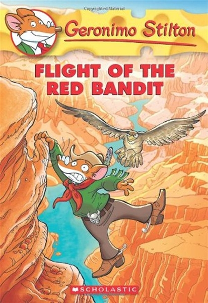 (二手書)Geronimo Stilton(56):Flight of the Red Bandit