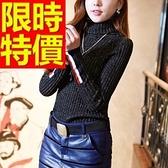 針織衫高領經典典型-正韓保暖長袖羊毛女毛衣3色63aa27【巴黎精品】