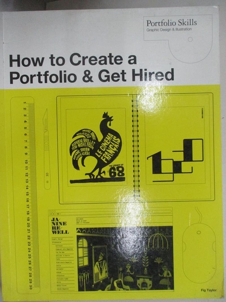 【書寶二手書T1/設計_J9F】How to Create a Portfolio and Get Hired: A Guide for…
