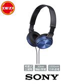 SONY MDR-ZX310AP 耳戴式立體聲耳機 (藍)  台灣索尼 公司貨