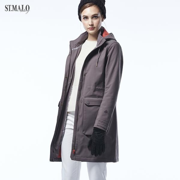 【ST.MALO】極地剋星Sympatex女外套-1845WJ-艾菲爾棕