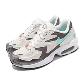Nike 復古慢跑鞋 Wmns Air Max 2 Light SE 米白 綠 女鞋 氣墊 運動鞋 【ACS】 CJ7981-002