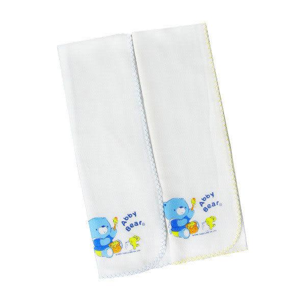 【奇買親子購物網】艾比熊紗布澡巾(2入)