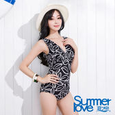 【SUMMERLOVE夏之戀】超顯瘦連身三角泳衣-S15705