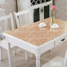 餐桌墊PVC茶幾桌布防水防燙防油免洗軟玻璃塑料膠墊水晶板 KB7325 【優品良鋪】