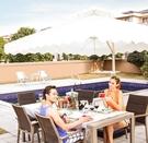 太陽/遮陽傘 xcs 戶外遮陽傘庭院傘太陽傘沙灘傘折疊大型傘廣告傘(贈送底座) 鉅惠85折