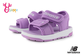 New Balance 小童 寶寶涼鞋 時尚潮流穿搭 運動涼鞋 爆款韓版 韓國製 O8561#紫色◆OSOME奧森鞋業