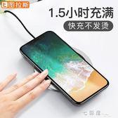 iPhoneX無線充電器iPhone8蘋果8Plus手機QI快充八P板iPhone X充電     檸檬衣舍
