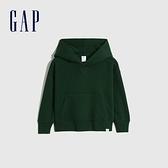 Gap男幼童 活力亮色連帽休閒上衣 661675-松樹綠