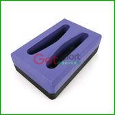 抓孔瑜珈磚2 洞款50D 硬度泡綿磚塊瑜珈塊高支撐硬度高EVA 伸展