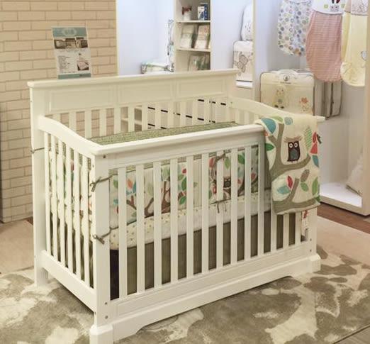 *La Joie喬依思* Rockland哈佛四合一嬰兒床 多功能成長型 環保漆 2色可選~~附贈床墊 護欄 工廠直營