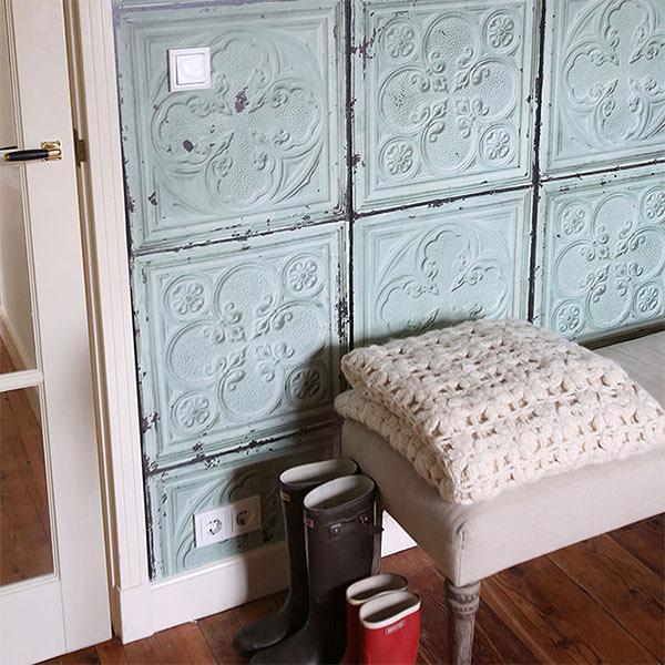 【進口牆紙】Brooklyn Tins by merci【訂貨單位48.7cm×10m/卷】荷蘭 仿真(fake) 磚紋  TIN-05
