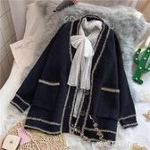 針織外套女-毛衣外套女開衫寬鬆韓版新款秋冬時尚慵懶風外穿針織衫ins潮 糖糖日系