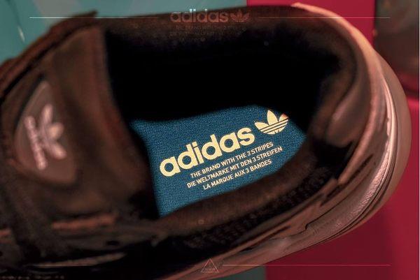 ISNEAKERS Adidas Originals Falcon W 老爹鞋 愛迪達 黑 粉 女鞋 B28126