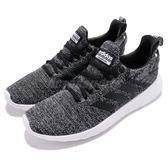 adidas 休閒慢跑鞋 Lite Racer BYD 黑 白 雪花 三條線 黑白 基本款 男鞋【PUMP306】 DB1592