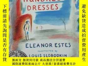 二手書博民逛書店THE罕見HUNDRED DRESSES 英文原版Y185017