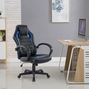 E-home Grandiose雄圖賽車型電競椅-EGS001 二色可藍色