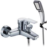 水龍頭 浴缸龍頭淋浴龍頭 浴室暗裝衛生間三聯開關冷熱混合混水閥