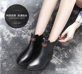 雨鞋女韓國可愛水鞋雨靴短筒成人學生切爾西套鞋膠鞋糖果中筒水靴  凱斯盾數位3C