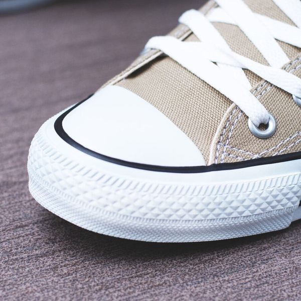 ISNEAKERS CONVERSE CANVAS ALL STAR COLORS HI 卡其 奶茶色 1CL128