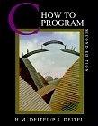 二手書博民逛書店《C How to Program, 2nd Edition》