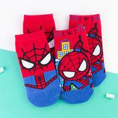 復仇者聯盟系列直版童襪 蜘蛛人 短筒襪 短襪 童襪 卡通印花襪