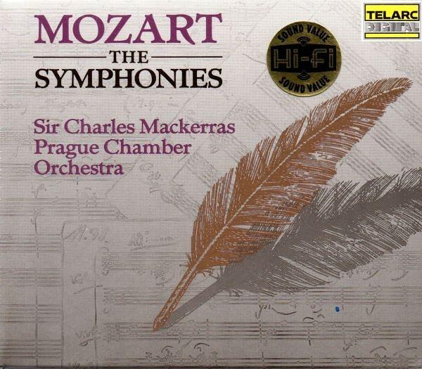 停看聽音響唱片】【CD】莫札特:交響曲全集