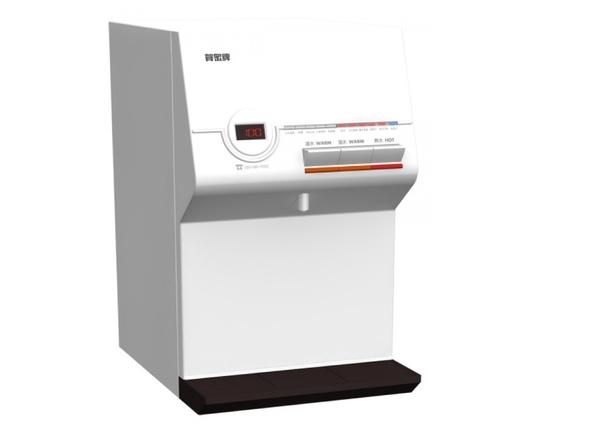 《贈濾芯*2》《專業安裝》 賀眾牌 UR-672BW-1 智能型微電腦 桌上型純水飲水機 [溫熱]