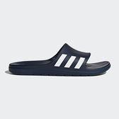 Adidas Aqualette Slides 男 女 深藍 白 愛迪達 經典休閒拖鞋 拖鞋 ㄧ體成型 CG3537