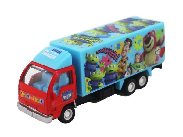 【卡漫城】 玩具總動員 迴力車 ㊣版 Toy Story 模型車 卡車 大貨車 巴斯光年 胡迪 熊抱哥 三眼怪