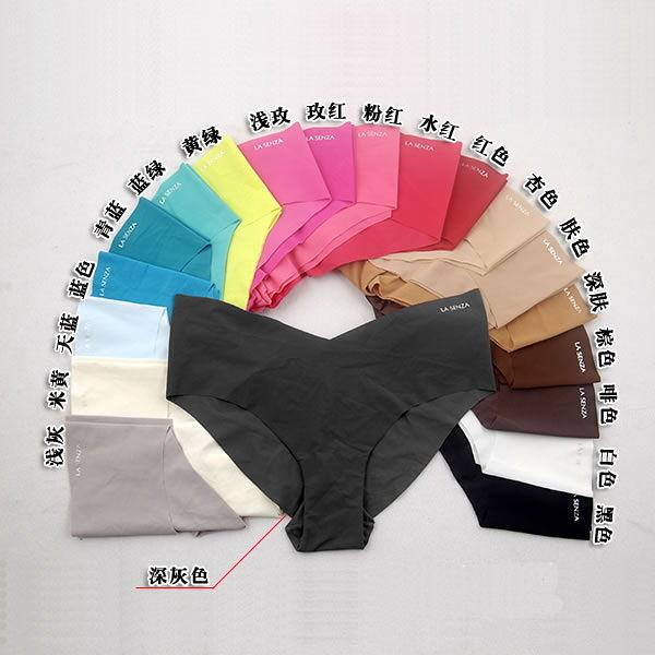 美國杜邦頂級面料超薄舒適一片式無痕內褲無縫女士三角褲(6入) -BUI218(XS~XL)
