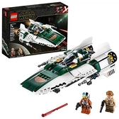 LEGO 樂高 Star Wars: The Rise of Skywalker Resistance A-Wing Starfighter 75248 (269 Pieces)