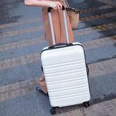 行李箱女拉桿皮箱大學生旅行箱正韓箱子男萬向輪20 22 24 26 28寸