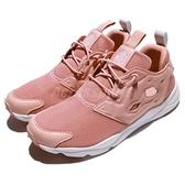 【六折特賣】Reebok 休閒慢跑鞋 Furylite Mesh 粉紅 白 透氣網布 女鞋 運動鞋【ACS】 CN0111