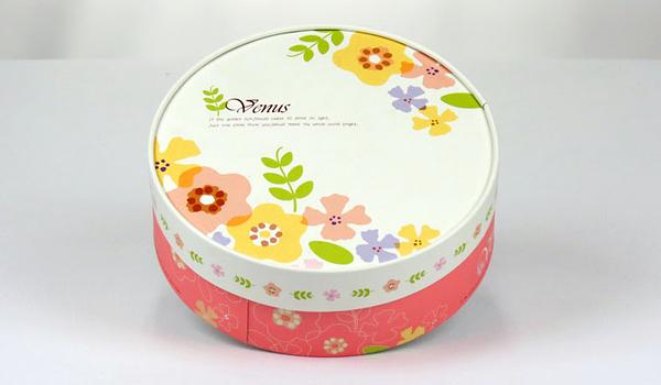 16CM  白色小花 附棉紙底板 6吋 乳酪盒 起司蛋糕盒 外帶盒 包裝盒【C004】