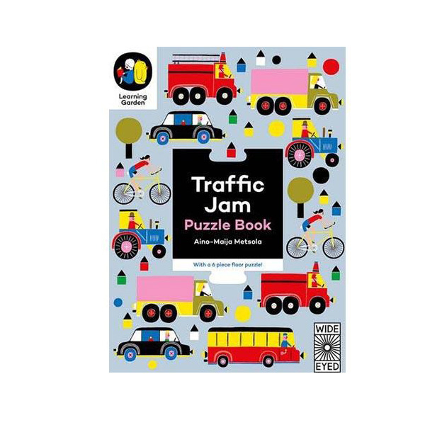 Traffic Jam: Puzzle Book - With a 6 Piece Floor Puzzle! 交通拼圖遊戲書 (6片)