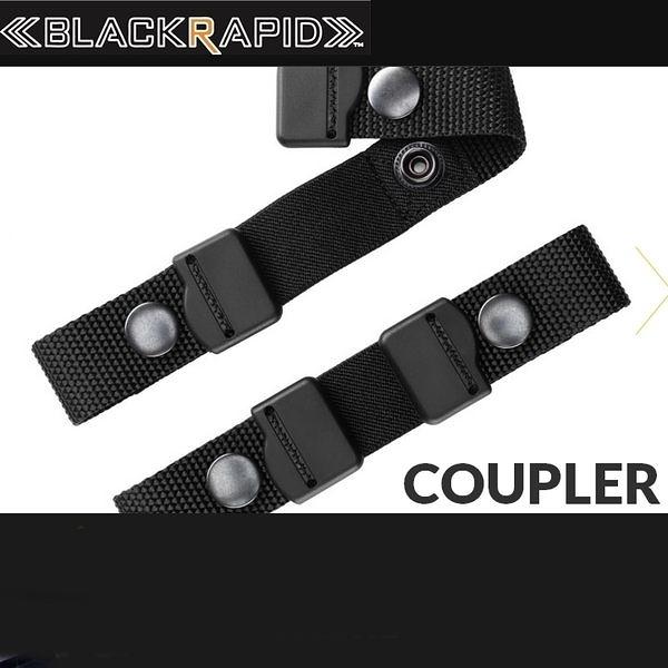 又敗家@美國Blackrapid快槍俠Coupler聯結扣帶適RS7 RS5 RS4 RS-SPORT-LEFT-SLIM雙槍背帶相機雙肩背帶聯接帶