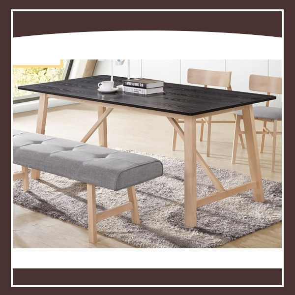 【多瓦娜】烏托邦實木6尺餐桌 21152-494001