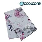 COOLCORE CHILL SPORT 涼感運動巾 數位花卉白 WHITE DIGI FLORAL (涼感運動毛巾、降溫、運動、運動巾)