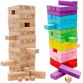 兒童桌遊-疊疊高積木成人桌面親子游戲開發兒童益智力玩具4-6-7-9歲男女孩
