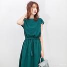短袖洋裝 2021夏季新款韓版大碼女裝中...