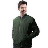 【Takaka】男 保暖飛行棉外套『軍綠』H85516 簡約立領 夾克 棒球外套 運動外套 防潑水 防風