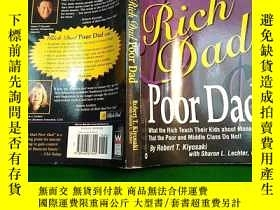 二手書博民逛書店Rich罕見Dad Poor DadY290224 不祥 不祥