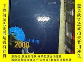 二手書博民逛書店test罕見and measurement catalog 2000 試驗和測量目錄2000Y203004