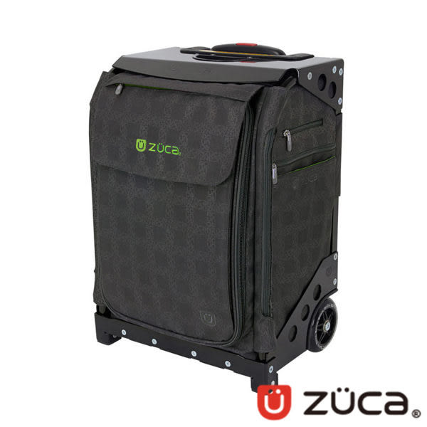 ZUCA Flyer-倫敦-限量款 商務行李箱 登機箱 ZFA-774 可坐式|可爬樓梯|拉桿|黑布|黑框