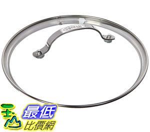 [8美國直購] 鍋蓋 Gotham Steel Clear Tempered Glass Vented Lid - Prevents Pots and Pans (11-inch Lid) B01GEYYXVW